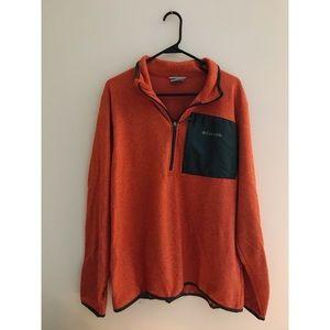 Orange Columbia Fleece